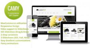 Camy – Clean 響應式技術Ecommerce WordPress 網站版型主題