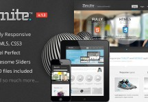Zenite -響應HTML5模板