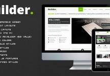 BUILDER——響應的HTML模板