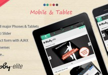 Moby Elite – WordPress 觸控行動手機 網站版型主題