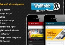 WpMobb – WordPress 觸控行動手機 網站版型主題