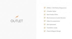 Outlet – 多用途 WooCommerce 網站版型主題