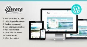 Breeze — 響應式技術WooCommerce 網站版型主題