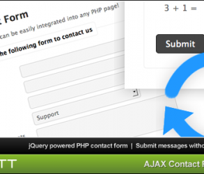AJAX 無換頁表單小程式