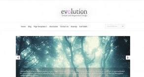 Evolution WordPress 架站版型主題