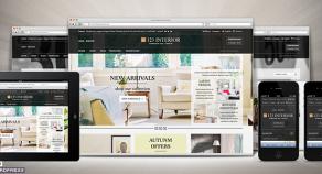 123Interior eCommerce WordPress 網站版型主題