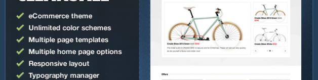 CleanSale – WordPress eCommerce 網站版型主題