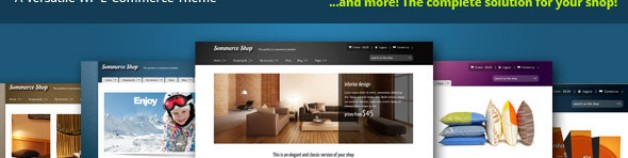 Sommerce Shop – A Versatile E-commerce 網站版型主題