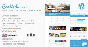 Centindu 產品作品展示 & Shop WordPress 網站版型主題