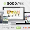 GoodWeb——一個&多頁面的WordPress主題
