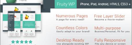Fruity WordPress | 響應式技術WordPress 網站版型主題