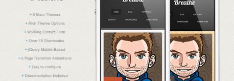 Breathe – WordPress
