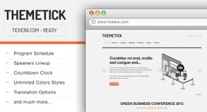 Themetick -事件管理WordPress主題