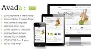 Avada | 響應式技術多用途 網站版型主題