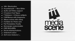 MediaScene音樂溢價WordPress主題