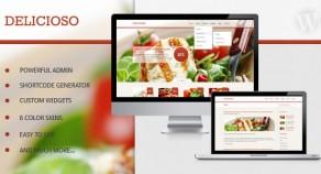 Delicioso——美味的WordPress主題餐廳