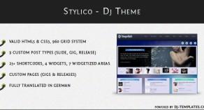 Stylico – WordPress Dj主題