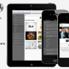 Mobit 頂級優質 WordPress 觸控行動手機 網站版型主題