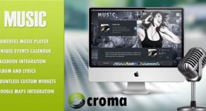 音樂:音樂家主題& Facebook應用程序
