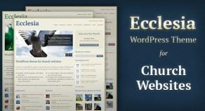 教堂,教堂的WordPress主題網站
