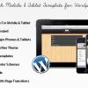 Touch 觸控行動手機 & 平版電腦 WordPress 網站版型主題