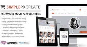 Simplepxcreate – 多用途 eCommerce 網站版型主題