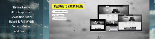 Maxon多功能Joomla模板