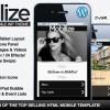 Mobilize – jQuery 觸控行動手機 WordPress 網站版型主題