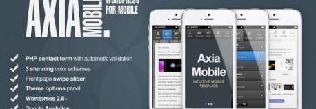 Axia觸控行動手機 – 公司企業觸控行動手機 | WordPress & HTML5