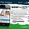 WOW! mySite WordPress 觸控行動手機 網站版型主題