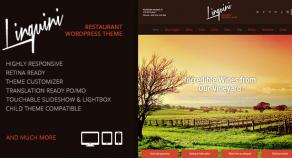 林奎尼:餐廳響應WordPress主題