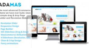 Adamas – 響應式技術Ecommerce WordPress 網站版型主題