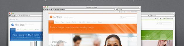 方丹——清潔響應Joomla模板