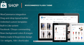 uShop – 響應式技術視網膜螢幕技術 WooCommerce 網站版型主題