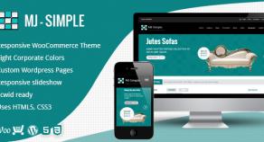 MJ Simple – 響應式技術WooCommerce 網站版型主題