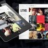 石版印刷| WordPress主題視覺愛好者