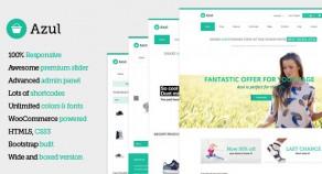 Azul – 響應式技術多用途 WooCommerce 網站版型主題