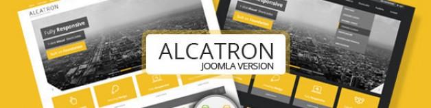 Alcatron——多用途Joomla模板