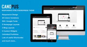 老人星-響應HTML5 WordPress模板