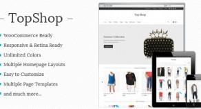 Top Shop – Multi-purpose WooCommerce 網站版型主題