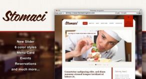 Stomaci——餐廳和咖啡館的WordPress主題