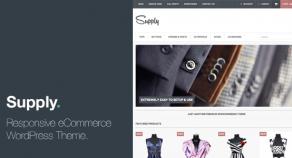 Supply – 響應式技術-eCommerce WordPress-網站版型主題