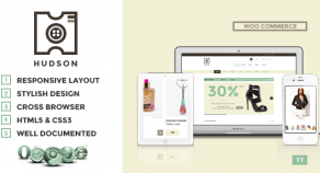 Hudson – 多用途 WooCommerce 網站版型主題