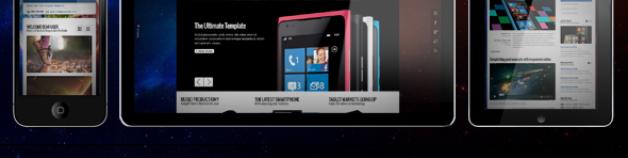 銀河公司模板為Joomla !