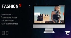 Fashion9 -響應攝影WordPress主題