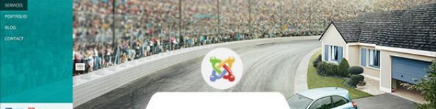 Jarani——創造性的全屏Joomla模板