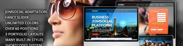 社會性——Joomla模板