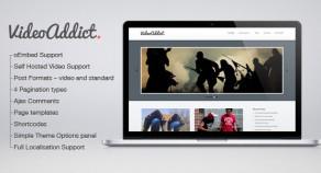 VideoAddict – WordPress視頻主題