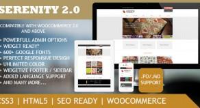 Serenity – 頂級優質 WordPress eCommerce 網站版型主題