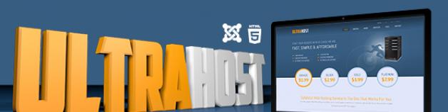 UltraHost -業務&托管Joomla模板